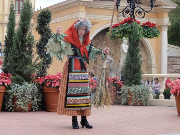 La Befana Epcot Italy Holiday