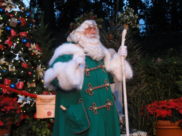 Father Christmas, UK Epcot