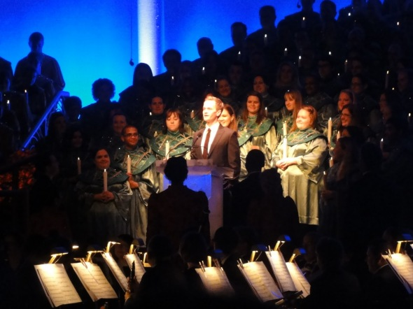Neil Patrick Harris at Candlelight Processional