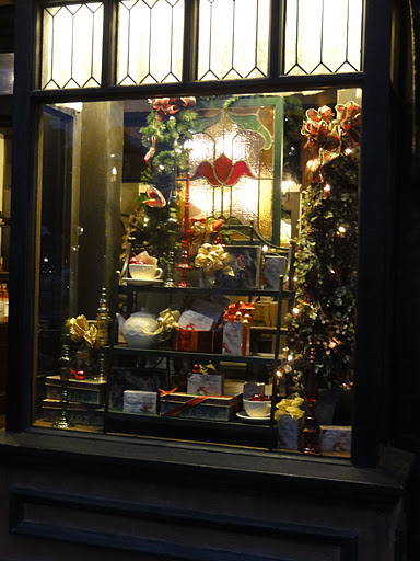 Twinings holiday display