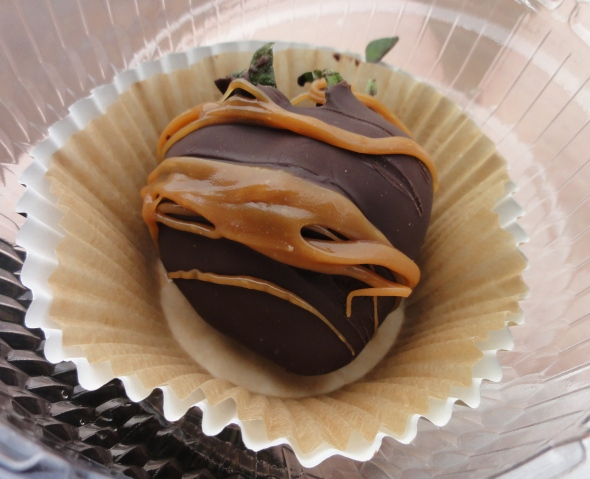 Chocolate Caramel Strawberry Karamell-Kuche Germany EPCOT
