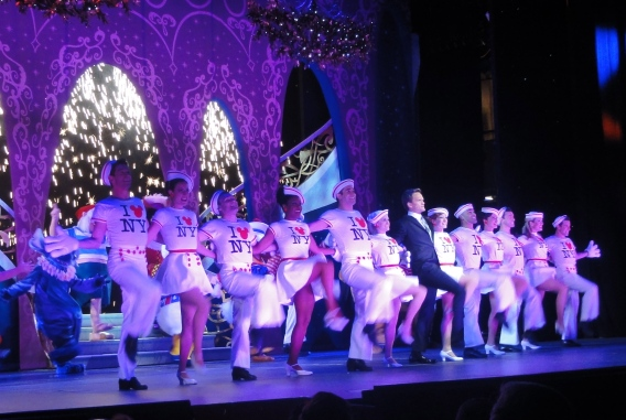 NPH Kickline Disney Fantasy Christening Celebration