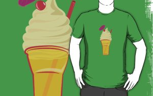 Drink Float T-Shirt by Rechenmacher