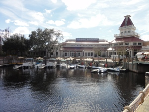 Water craft at Disney's Port Orleans Riverside