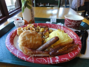 Breakfast Bounty Platter at Disney's Port Orleans Resort