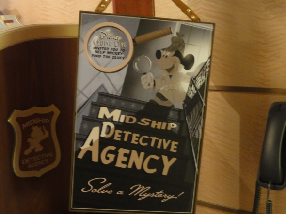Disney MidShip Detective Agency on Disney Fantasy