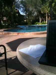 Quiet Pool at Disney's Port Orleans Riverside