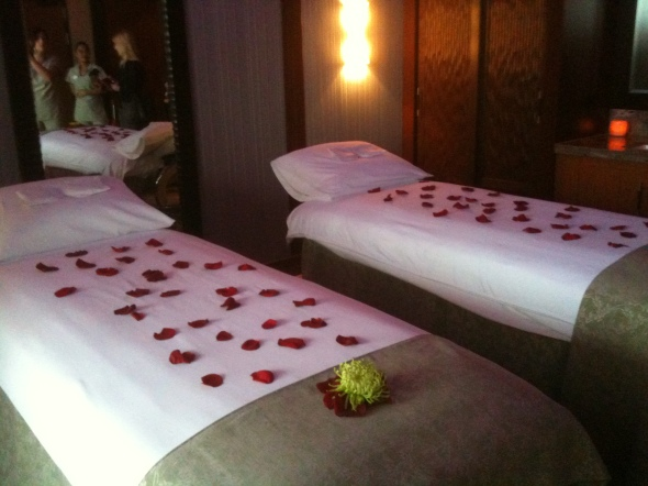 Massage in the Couple's Villa aboard the Disney Fantasy