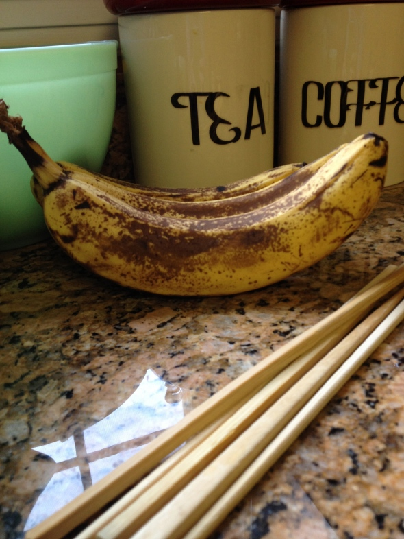 Bananas and chopsticks