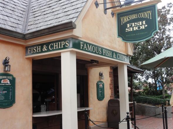 Yorkshire County Fish Shop, UK Pavilion EPCOT