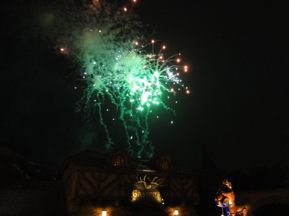 Hallowishes over Gaston's Tavern
