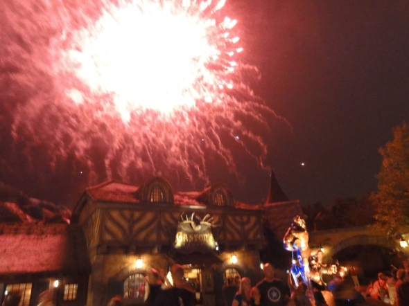 More Fireworks over Gaston's