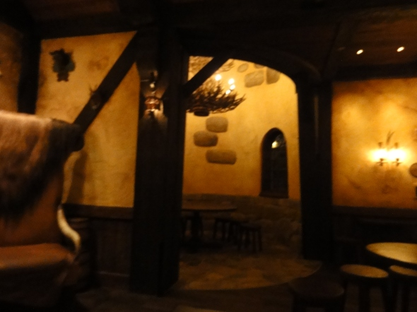 Cozy Spaces in Gaston's Tavern