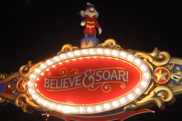 Believe and Soar - Storybook Circus WDW