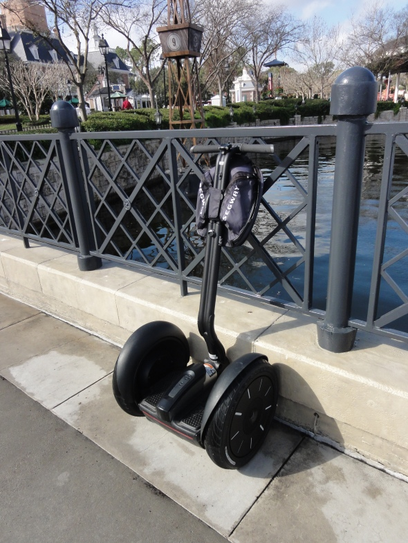 Segway tour in Epcot closed