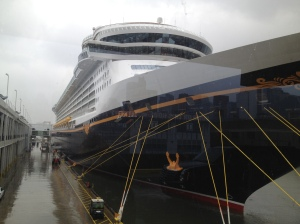 Disney Fantasy in port