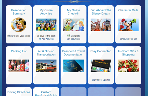 Disney Cruise Planning Center