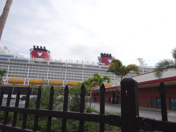 Disney Dream in Port