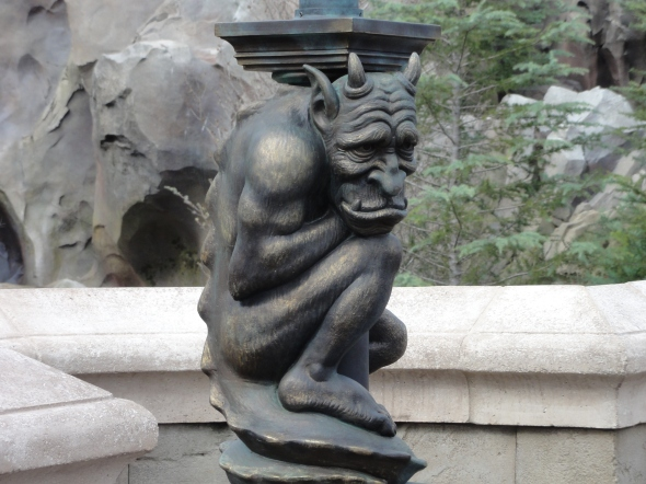 Gargoyle at Be Our Guest