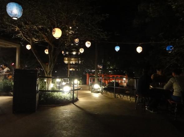 Katsura Grill patio Epcot Japan