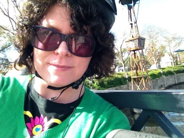 Segway Tour of Epcot Selfie