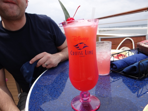 Fruity drink Cabanas Disney Dream