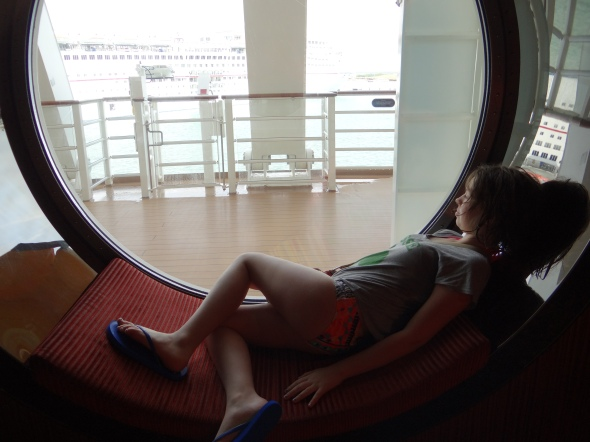 Porthole Seating Disney Dream