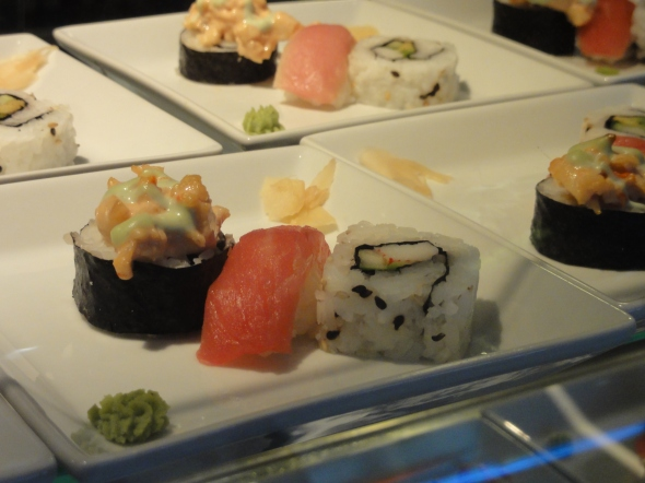 Sushi at Cabanas Disney Dream