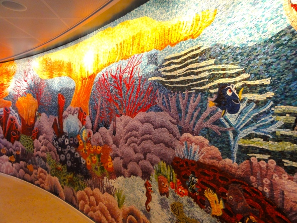 Nemo Mosaic Disney Dream and Fantasy