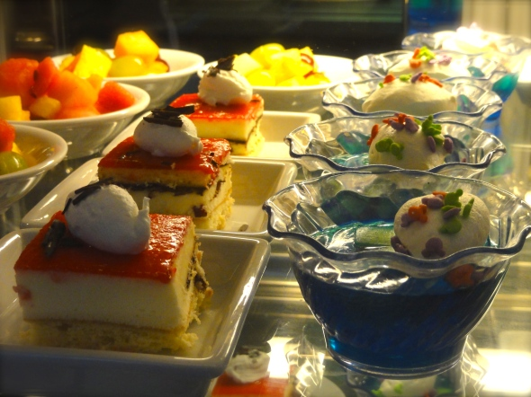Desserts at Cabanas Disney Dream