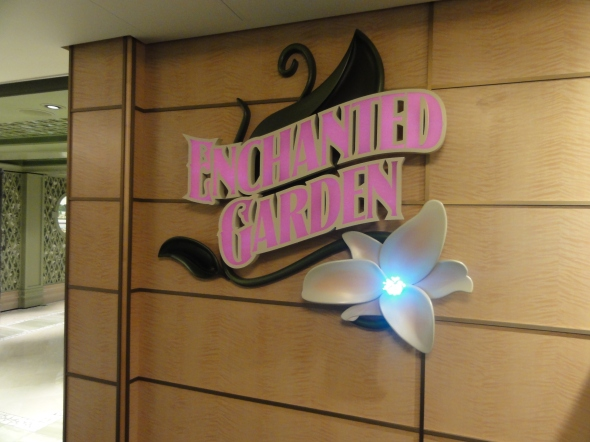 Enchanted Garden Disney Dream and Fantasy