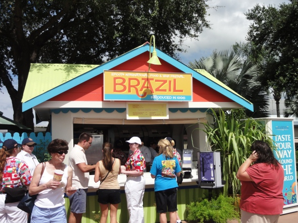Brazil Booth Epcot Food and Wine Festival