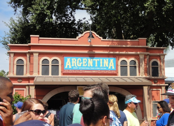 Argentina booth Epcot Food and Wine Festival