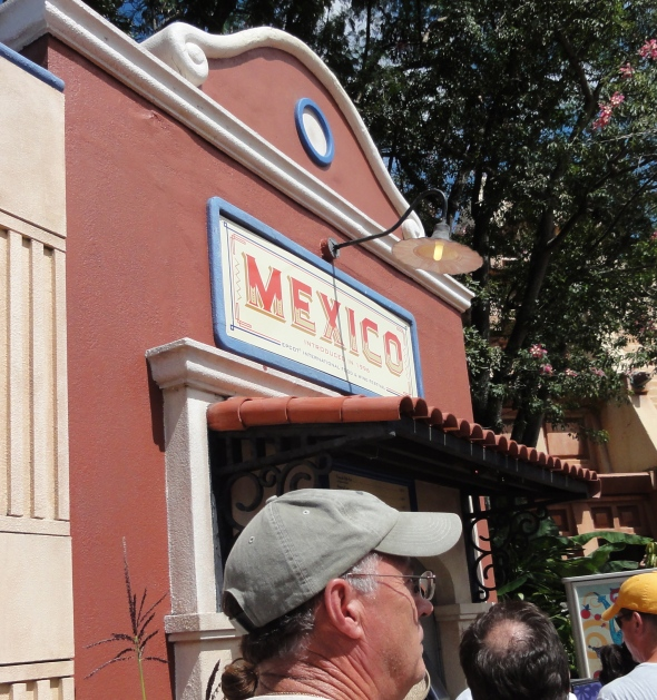 Mexico Booth at Epcot Food and Wine Festival