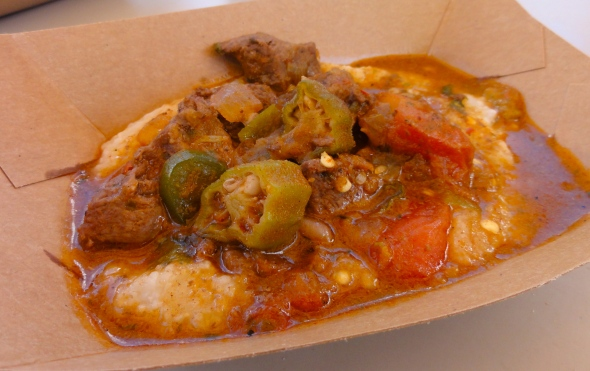 Berbere Beef at Africa booth Epcot Food and Wine Festival