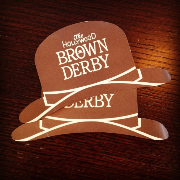 Hollywood Brown Derby Recipe Cards