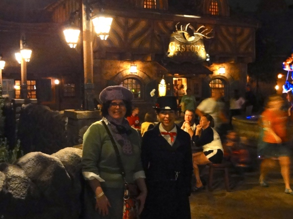 Front of Gaston's Tavern