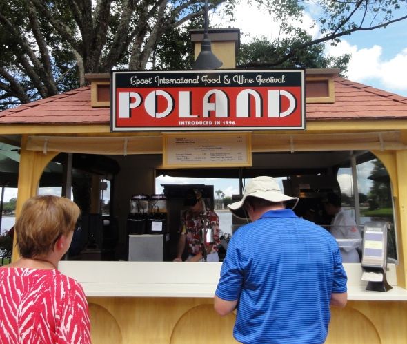 Poland Booth Epcot Food and Wine Fest 2013