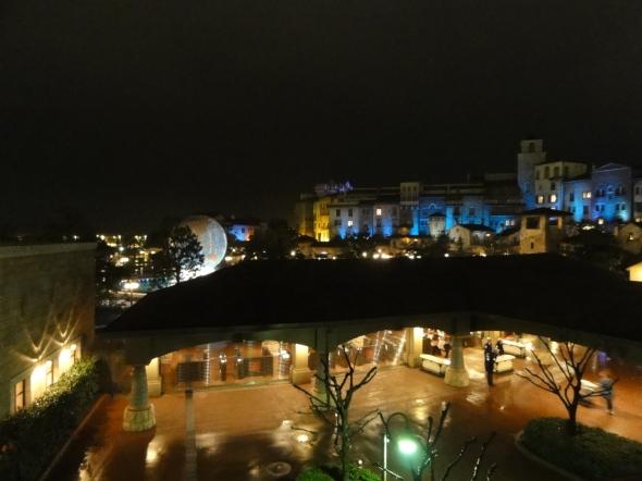 Tokyo DisneySea at night