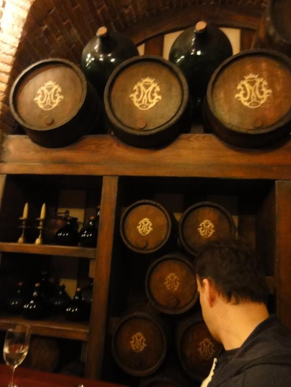 Barrels at Magellan's