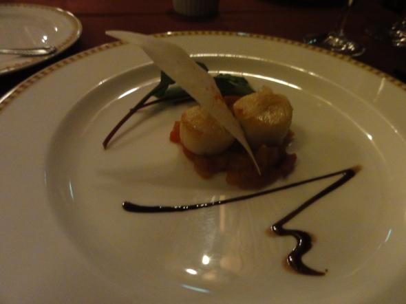 scallops at Magellan's