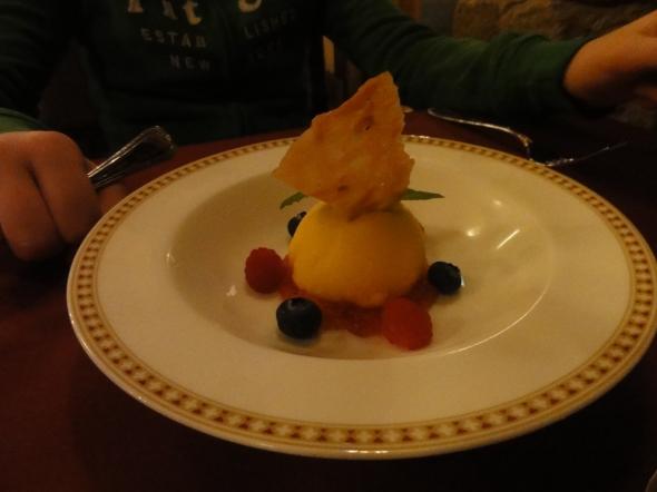 tangerine sorbet Magellan's