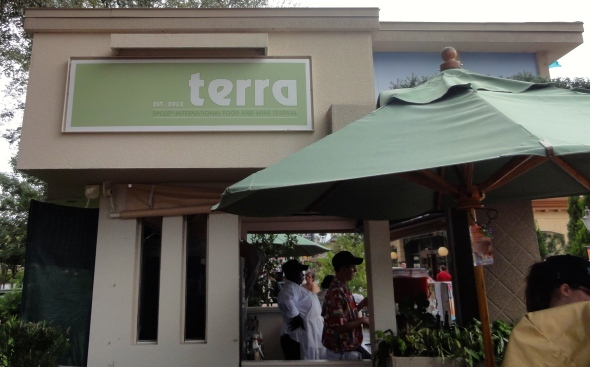 Terra Booth Epcot Food and Wine Fest 2014
